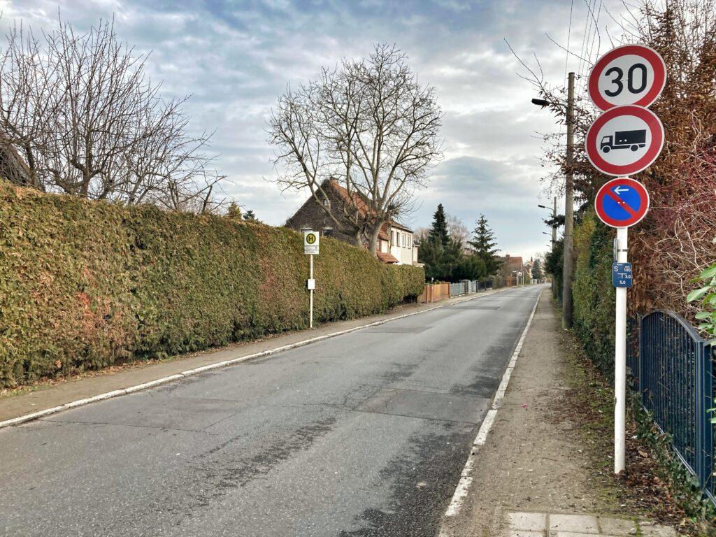 Mahlsdorf LIVE - Die Greifswalder Straße im Mahlsdorfer Norden soll zur Einbahnstraße werden.