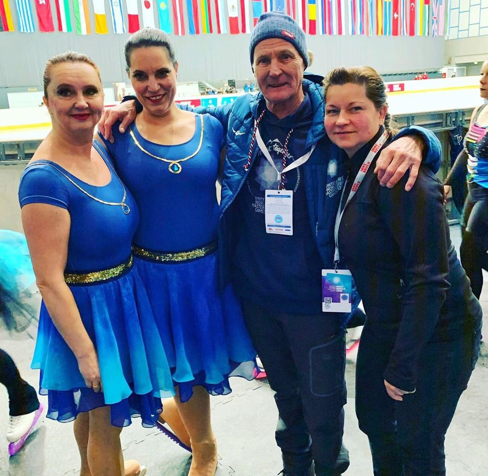 Mahlsdorf LIVE - Deutsche Meisterin und Bronze bei Olympia der Freizeit-Sportler: Mahlsdorferin räumt im Synchron-Eislauf ab