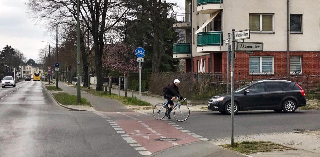 Mahlsdorf LIVE - Lebensgefahr für Radfahrer: Gefährlichste Kreuzung des Bezirks befindet sich in Mahlsdorf