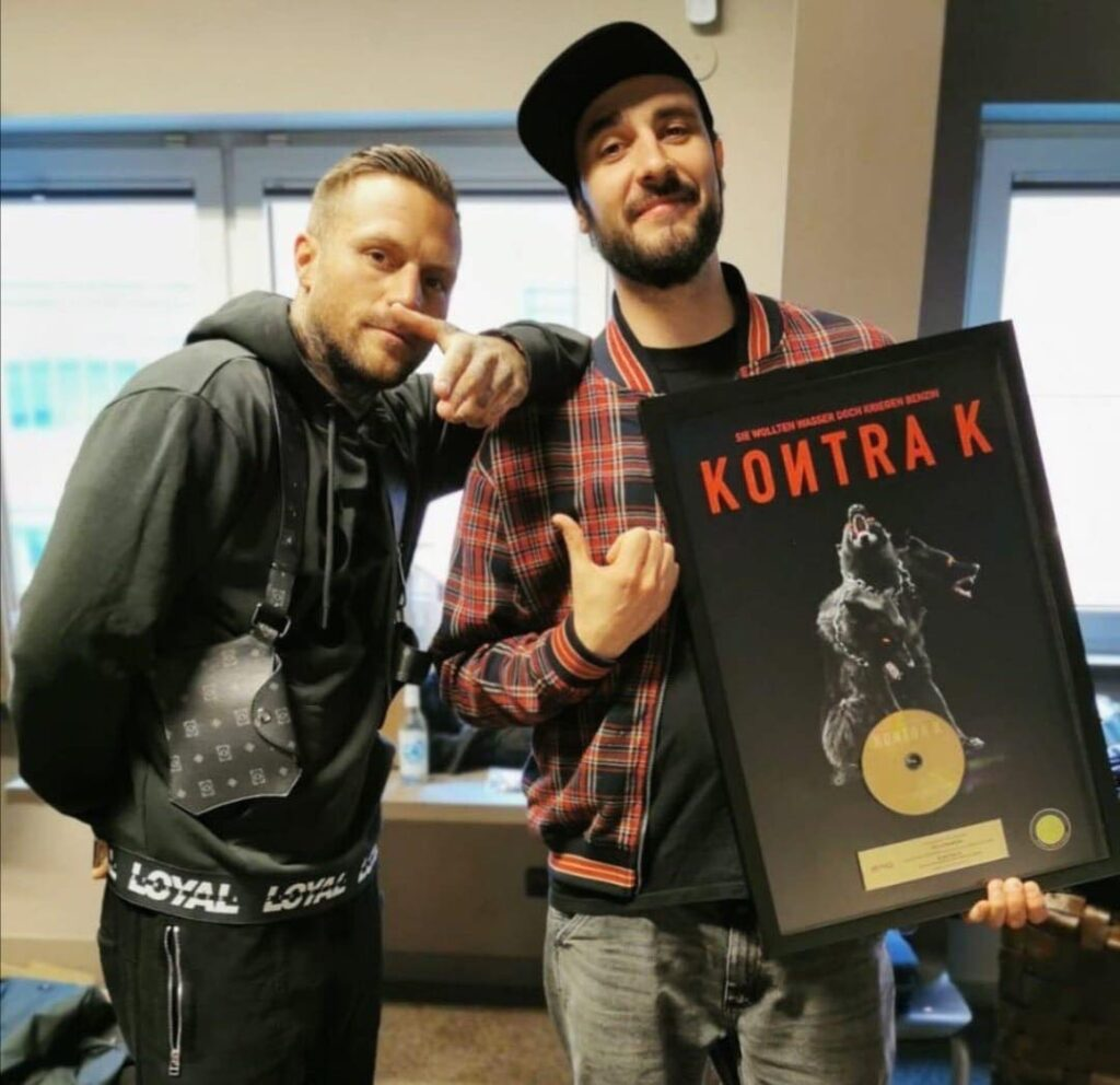 Foto: Kontra K und Ric Strakow