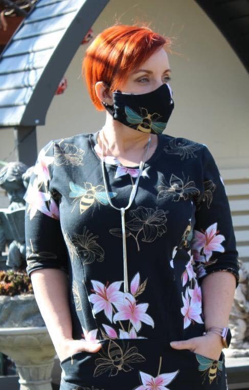 Malsdorf LIVE - Tolle Aktion: Mahlsdorferin näht ehrenamtlich Schutzmasken für soziale Einrichtungen