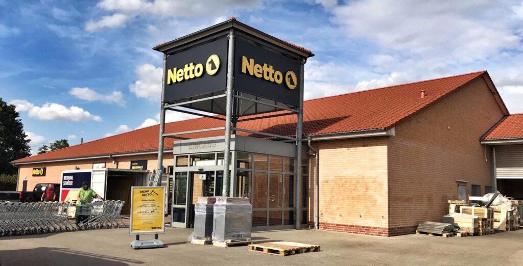 Fotos: Netto / So soll der neue Markt nach Fertigstellung aussehen