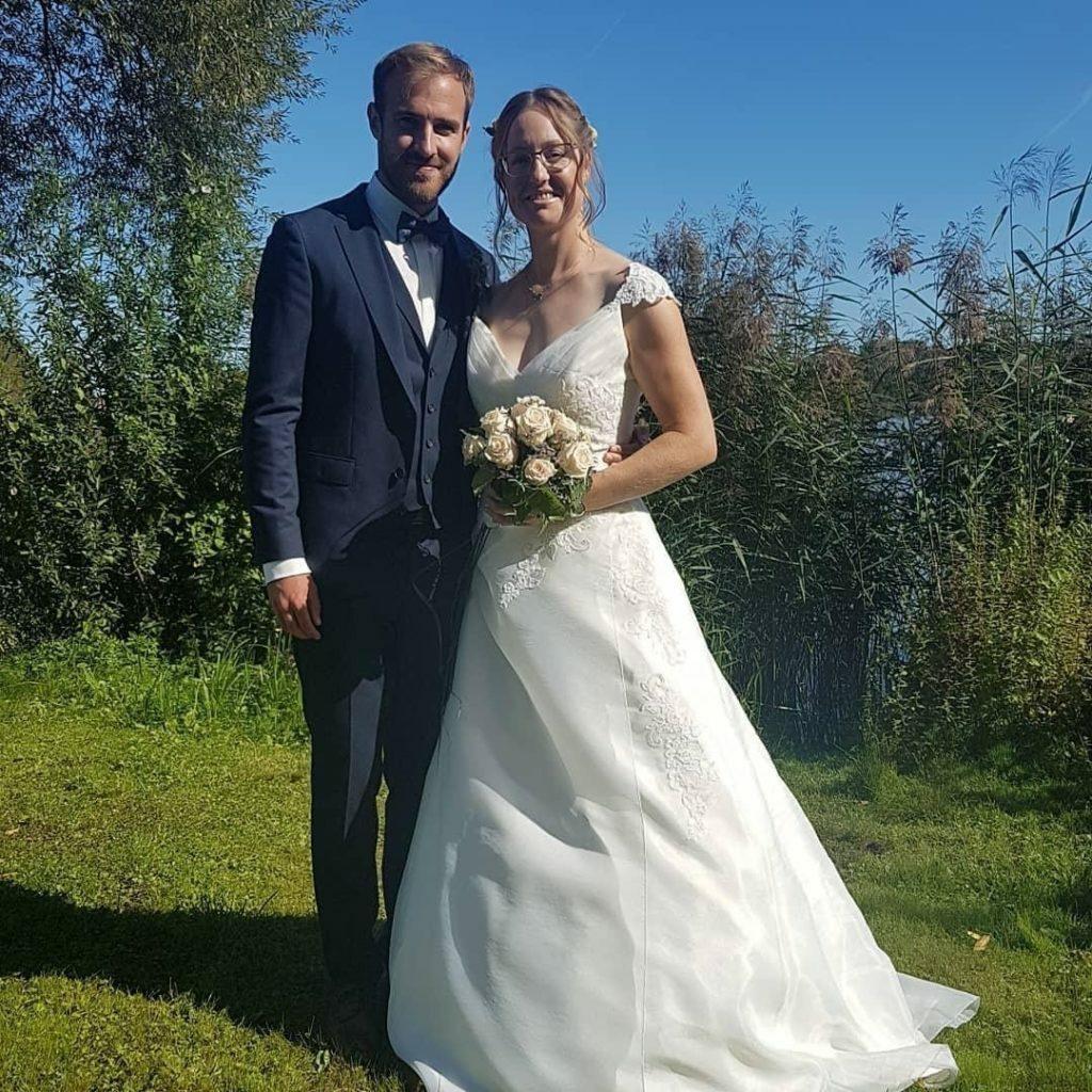 Mahlsdorf LIVE - Mahlsdorfer Olympiasiegerin heiratet ihren Florian