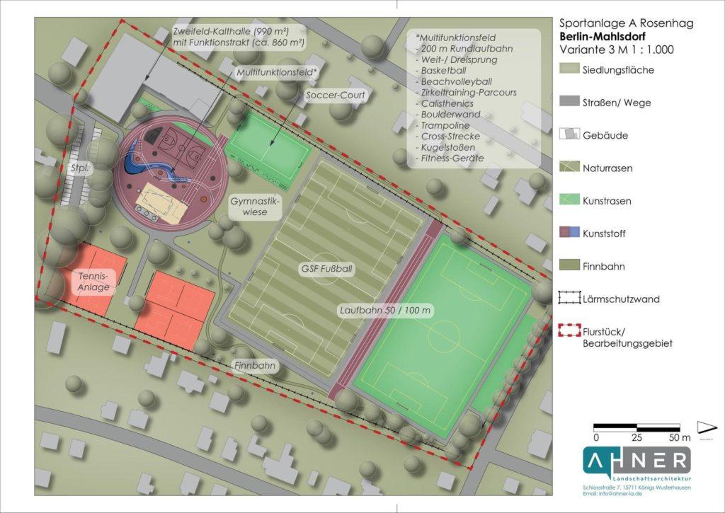 Mahlsdorf LIVE - Für 7 Millionen Euro: Mahlsdorfer Sportplatz soll massiv ausgebaut werden