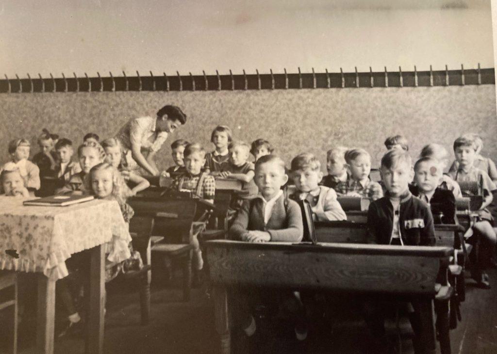 Mahlsdorf LIVE - Ein Blick in ein Klassenzimmer im Jahr 1955