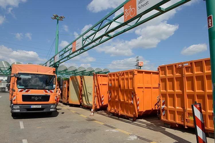 Mahlsdorf LIVE -Streik: Am Dienstag bleibt Mahlsdorfer BSR-Recyclinghof geschlossen, auch der Müll wird nicht abgeholt