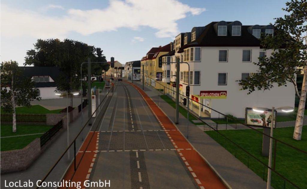 Mahlsdorf LIVE - Künftig soll nur noch die Straßenbahn in der Hönower Straße fahren.
