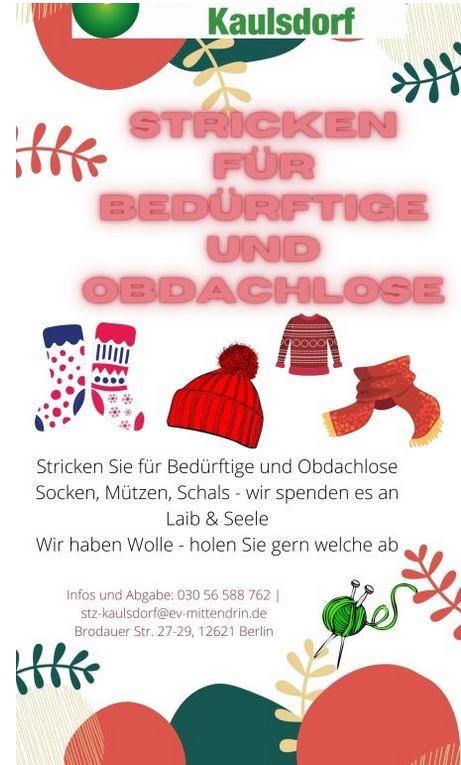 Mahlsdorf LIVE - Lebensmittel und warme Klamotten für Bedürftige gesucht