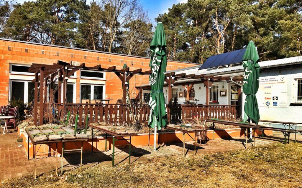 Mahlsdorf LIVE - Am Vereinsheim des FSV beteiligte sich die Gemeinde Hoppegarten mit 250.000 Euro.
