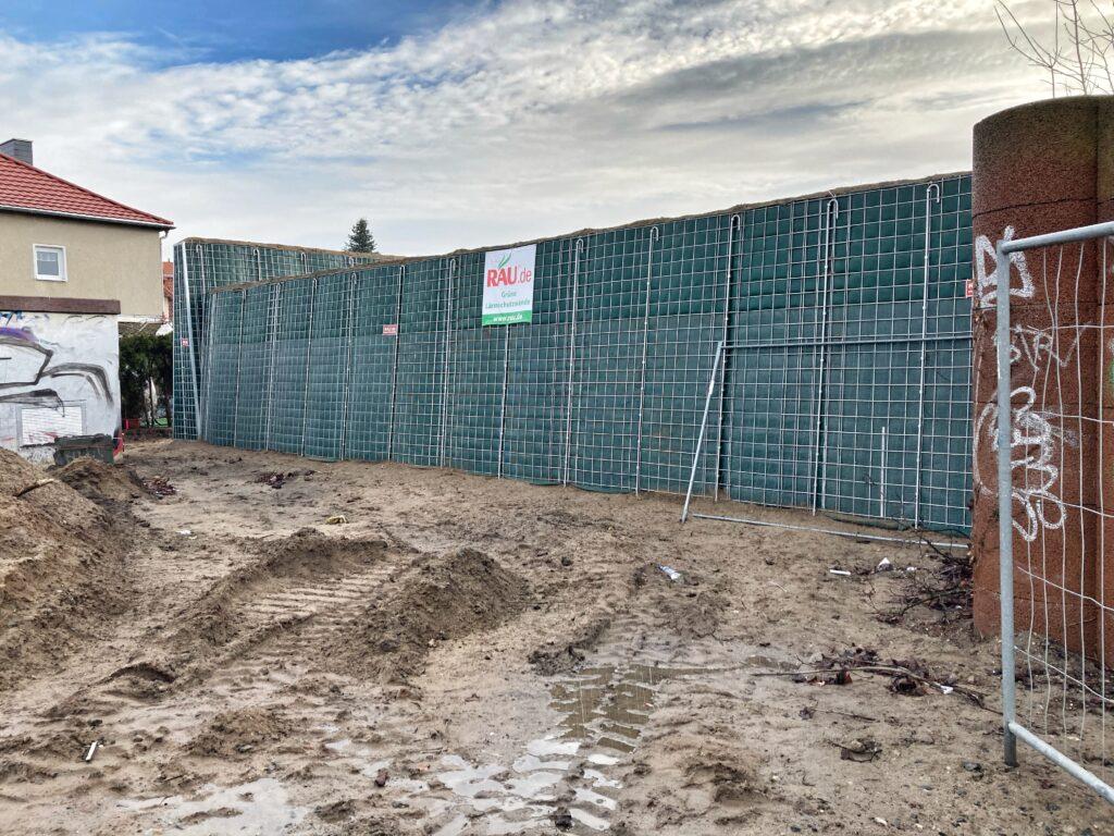 Mahlsdorf LIVE - Bauarbeiten gehen voran: Sportplatz Rosenhag ändert sein Gesicht