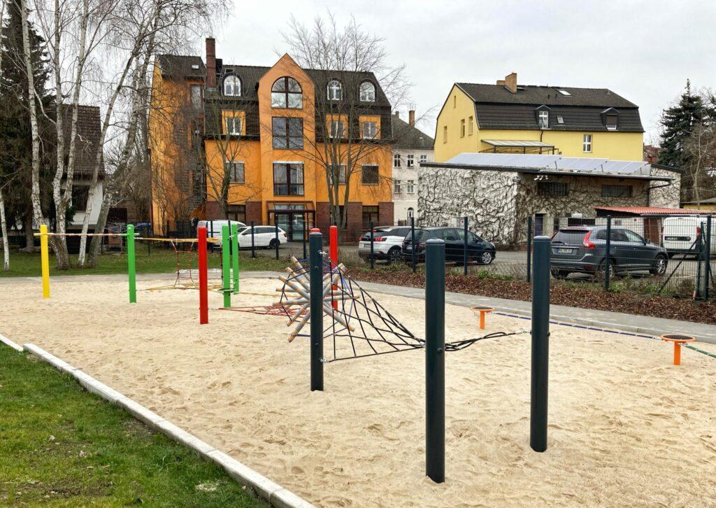 Mahlsdorf LIVE - Fast fertig: Mahlsdorf bekommt einen neuen Spielplatz